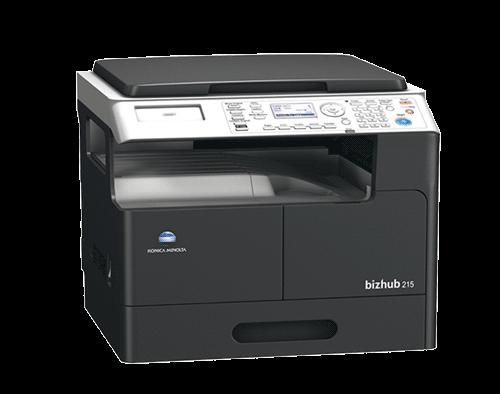 دستگاه فتوکپی کونیکا مینولتا مدل bizhub 215 black and white multifunction printer