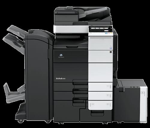 دستگاه فتوکپی کونیکا مینولتا مدل bizhub 808 black and white nultifunction printer